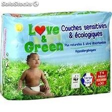 X30 couches ecolo T4 lovegreen