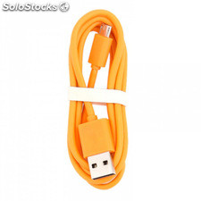 Xiaomi USB Cable de datos original 100cm naranja