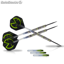 XQmax Dardos MvG Green Demolisher 23g 70% Tungsteno QD2200020