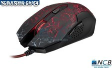 Xtech Mouse Gamer Cable 6 Botones 3D 600/1200/2400 Dpi