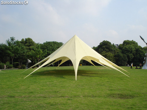 Xxl carpa estrella 14x26 crema for Carpa europea