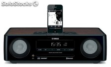 Yamaha TSX-B232 Negro, sistema HiFi Bluetooth, CD, iPod y iPhone