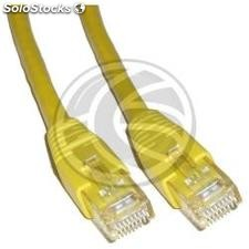 Yellow Cat 6 utp cable 1m (RJ33)