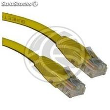 Yellow Category 5e UTP cable 5m (RL37)
