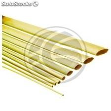 Yellow shrink tubing of 4.8 mm roll of 3m (FN94)