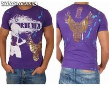 "Young Rich t-shirt Clubwear ""domina"" yr-1913-7452 Viola"