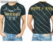 "Young Rich t-shirt Clubwear ""dragon"" yr-1913-7449 nero"