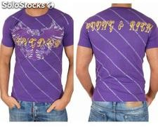 "Young Rich t-shirt Clubwear ""dragon"" yr-1913-7449 viola"