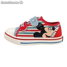 Zapatilla Lona Mickey Mouse Stripeds 8214 PPT02-8214