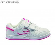 Zapatilla niña john smith cailoavel k blanco/fucsia 691575