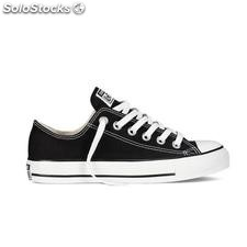 ✅ zapatilla sneaker converse all star ox black M9166C