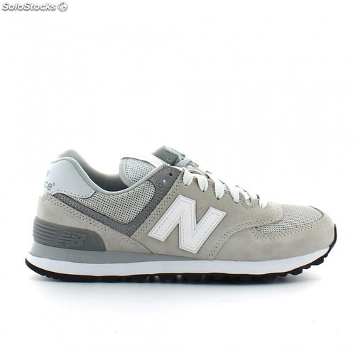 zapatillas new balance gris mujer
