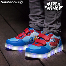 Zapatillas Deportivas con LED Super Wings