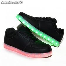 Zapatillas led negras