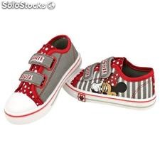 Zapatillas Lona con Velcro Minnie Disney