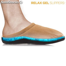 Zapatillas Relax Gel Slippers Negro (L)