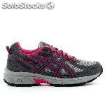 Zapatillas running asics gel venture 6 gs gris junior