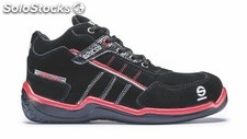 Zapatillas sparco urban high S3 D2 negro tg 38