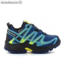 Zapatillas tail running salomon xa pro 3D cswp azul niñ@