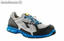 Zapato d-flex low S1P src diadora (color : gris/azul real) (tallas : 37)