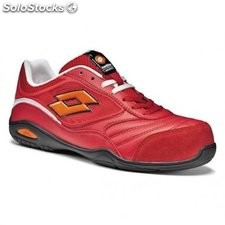 Zapato de seguridad lotto Energy 500 rojo