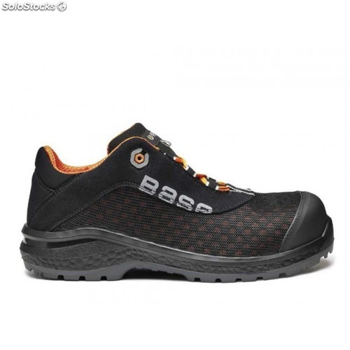 Zapato Depor Base Protection Be - Fit S1P Negro/Naranja T-39