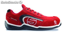 Zapato deportivo sparco low S1P A3 rojo 40