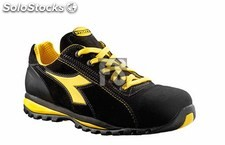 Zapato glove ii low S1P-hro-sra diadora (color : negro) (tallas : 40)