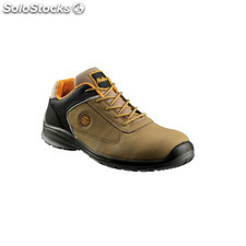 Zapato Piel Nobuck S3 Marron 47 - Holler - Blitz Low