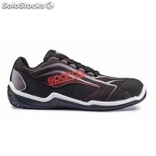 Zapato Seg T45 S1P Dep Pu/Pl No Met N2 Nylon/Pu Ne/Ro Sparco