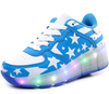 Zapatos inafantiles luces LED 1 rueda de patin zapatos deportivos stock en china