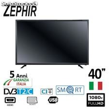 "Zephir smart tv 40"" led fullhd T2 ZVS40FHD"