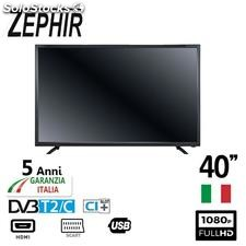 "Zephir tv 40"" led full hd DVBT2 ZV40FHD GAR5ANNI it"