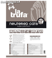 Zero Cats Neutered 17.00 Kg