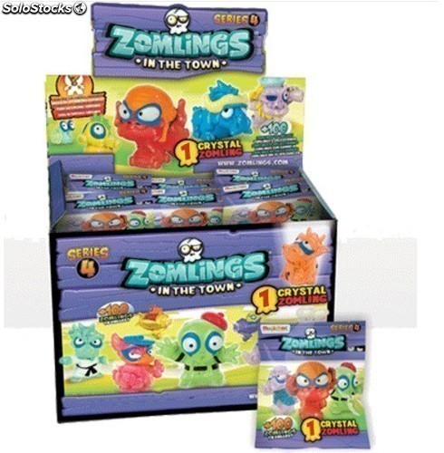 Zomlings S4 In the Town - Box con 50 sobres