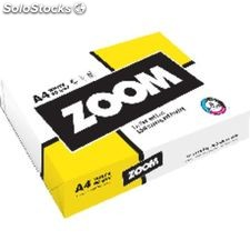 Zoom papel multifuncion zoom 500h 80 g. a4 zooma4