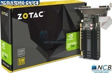 Zotac Nvd Gt 710 1Gb Ddr3 Vga/Hdmi/Dvi Pcix16 Low Profile